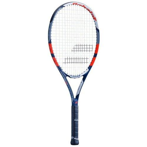 Ракетка для большого тенниса Babolat Pulsion 105 27'' 2 темно-синий/белый ракетка для большого тенниса babolat b fly 23 gr000 140244 детская 7 9 лет фиолет бирюзовый