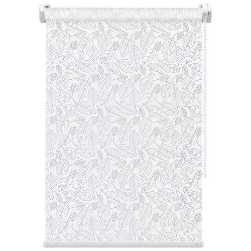 Рулонная штора FixLine Shade (белый), 55х180 см