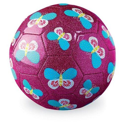 Футбольный мяч Crocodile Creek Бабочки, 18 см. (2500-0)