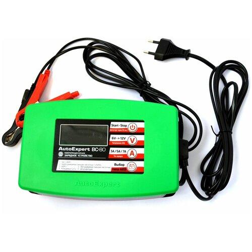 Фото - Зарядное устройство AutoExpert BC-80 зелeный зарядное устройство autoexpert bc 65