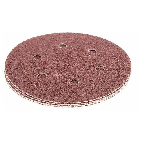 Фото - Шлифовальный круг на липучке Hammer 214-013 150 мм 5 шт шлифовальный круг на липучке hammer 214 016 150 мм 5 шт