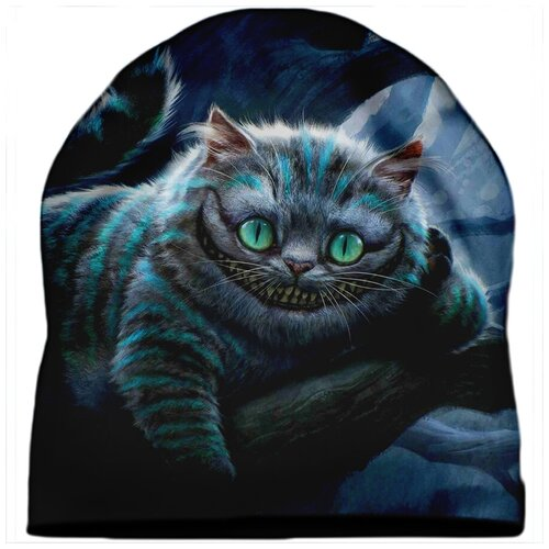 Шапка мужская Чеширский кот