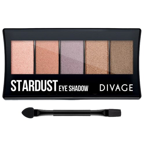 DIVAGE Палетка теней Palettes Eye Shadow Stardust sleek makeup quattro eye shadow medussa s kiss палетка теней тон 331