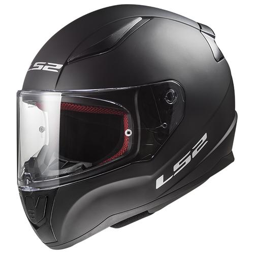 Шлем LS2 FF353 RAPID SINGLE MONO Matt Black (XXXL, Matt Black)