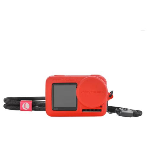 Фото - Силиконовый чехол DJI Osmo Action (Красный) (PGYTECH P-11B-013) мини штатив pgytech t2 p cg 006