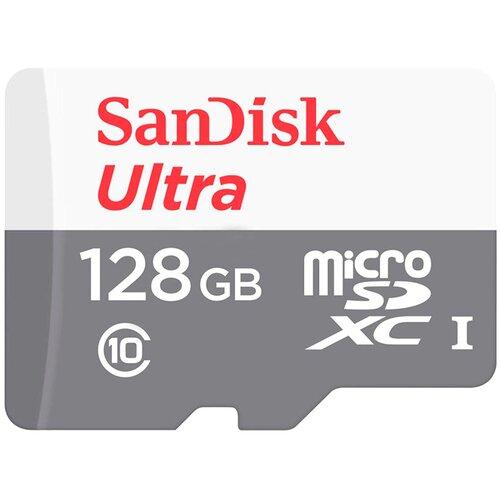 Фото - Карта памяти SanDisk Ultra microSDXC Class 10 UHS-I 80MB/s 128GB флеш карта sd 128gb sandisk sdxc class 10 uhs i u1 ultra 100mb s