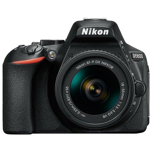 Фото - Фотоаппарат Nikon D5600 Kit черный AF-P 18-55mm f/3.5-5.6 VR крышка nikon на объектив 55mm