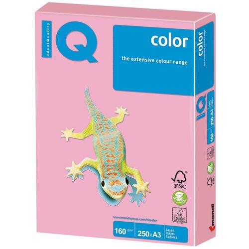 Фото - Бумага IQ Color А3 160 г/м2 250 лист., розовый PI25 бумага iq color а4 color 120 г м2 250 лист оранжевый or43 1 шт