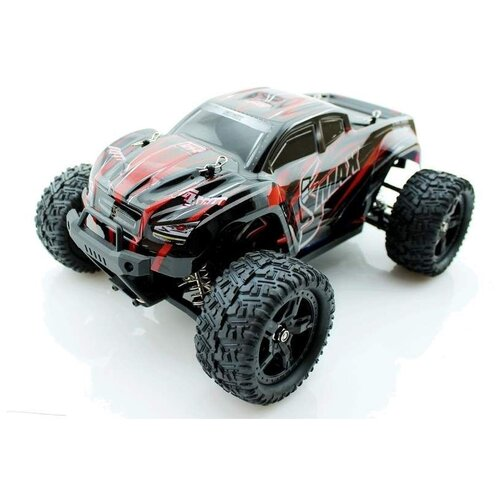 Фото - Радиоуправляемый монстр Remo Hobby SMAX Brushless (красный) 4WD 2.4G 1/16 RTR радиоуправляемый монстр remo hobby mmax upgrade 4wd rtr масштаб 1 10 2 4g rh1035upg blue
