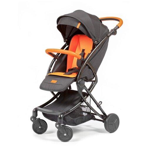 Прогулочная коляска Giovanni Modo, black/orange
