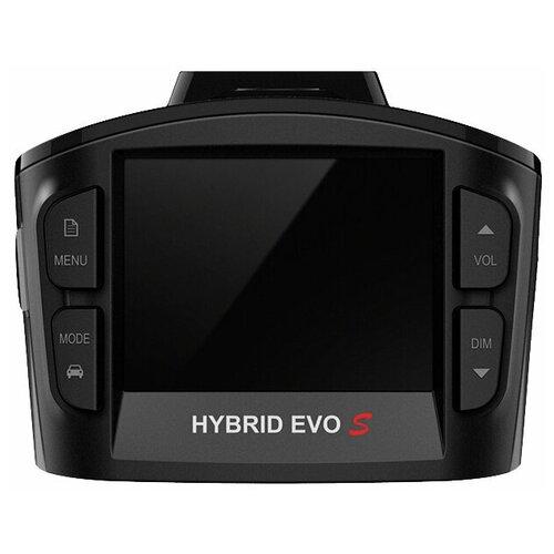 Видеорегистратор с радар-детектором SilverStone F1 HYBRID EVO S, GPS, черный видеорегистратор с радар детектором parkprofi evo 9000 gps черный