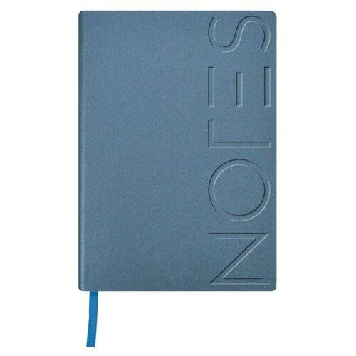 Купить Ежедневник LOREX Notes classic недатированный, А5, 128 листов, голубой металлик, Ежедневники, записные книжки
