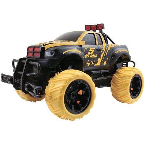Внедорожник Пламенный мотор Трофи Профессионал (870317/870318) 28 см черный/желтый трактор пламенный мотор 870493 желтый