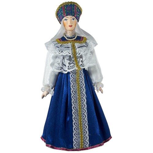 Купить Кукла Потешный промысел Свадебный женский костюм 19 век Вологодская губерния, 25 см, 0355, Куклы и пупсы
