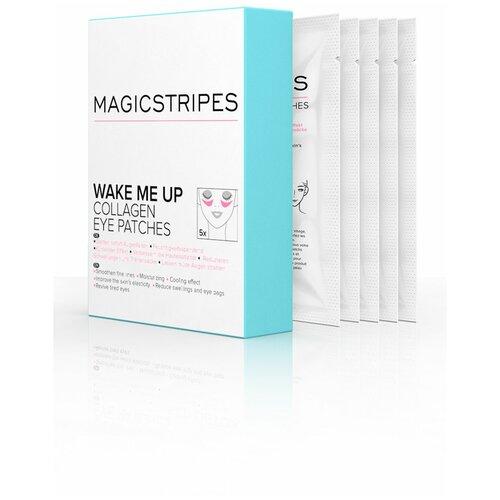 Коллагеновые патчи Magicstripes для кожи вокруг глаз, 5 пар