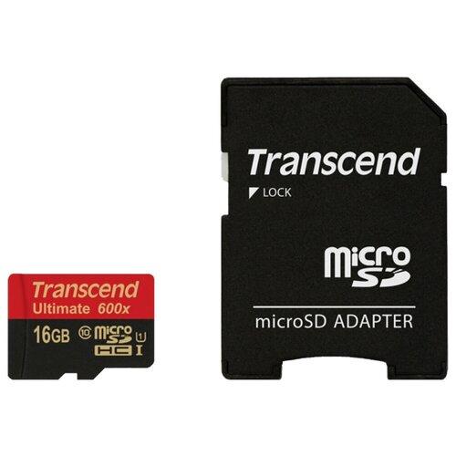 Фото - Карта памяти Transcend TS16GUSDHC10U1 карта памяти transcend ts16gusdc10