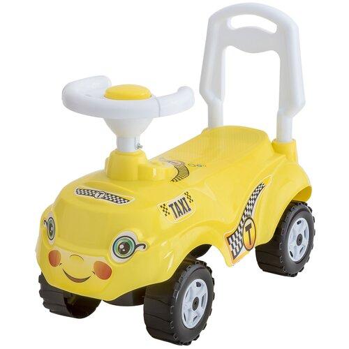 Купить Каталка-толокар Orion Toys Микрокар (157) лимон, Каталки и качалки