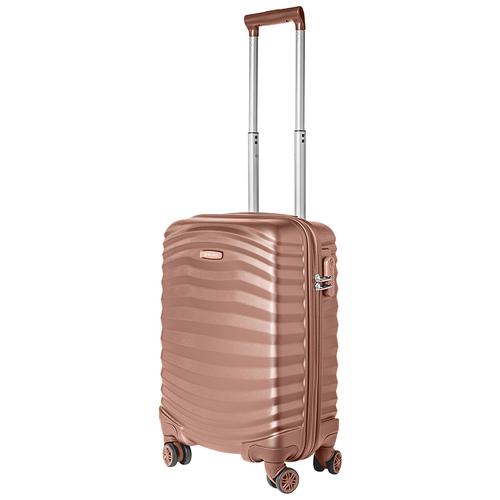 Турецкий чемодан Delvento модель Lessie Rose 59 см, 35л