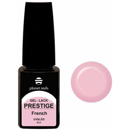 Купить Гель-лак для ногтей planet nails Prestige French, 8 мл, 340 клубничный