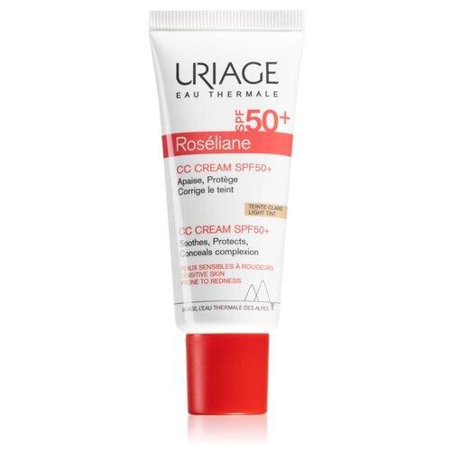 Uriage CC крем Roseliane, SPF 50, 40 мл, оттенок: Light Tint