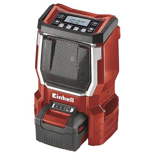 Радиоприемник Einhell TE-CR 18 Li-Solo красный радиоприемник einhell te cr 18 li solo красный