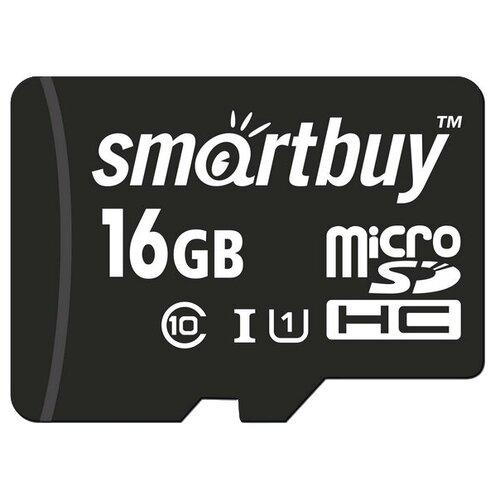 Фото - Карта памяти SmartBuy microSDHC Class 10 UHS-I U1 16GB + SD adapter карта памяти smartbuy microsdhc class 10 32gb sd adapter