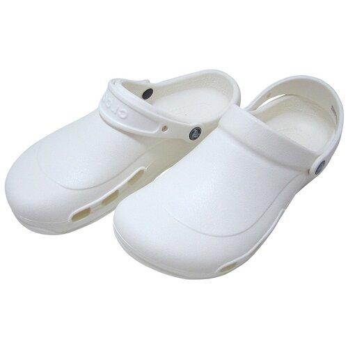 Сабо Crocs Bistro, размер 42-43(M10/W12), white crocs bistro unisex for male for female man woman tmallfs