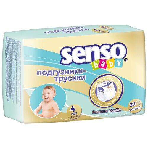 Купить Senso baby трусики 4 (9-14 кг), Подгузники