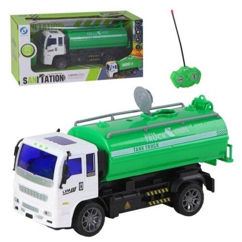 Автоцистерна Yue Ye Toys Цистерна (JB1167891) зелeный