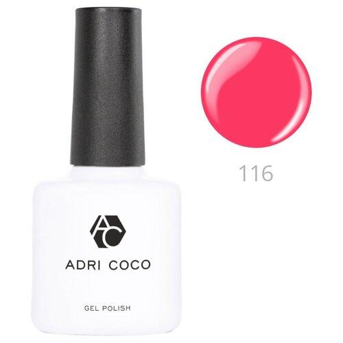 Купить Гель-лак для ногтей ADRICOCO Gel Polish, 8 мл, 116 суперрозовый