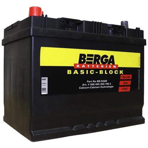 Автомобильный аккумулятор Berga BB-D26R