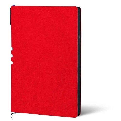 Купить Набор LOREX LXDRA5-CL, искусственная кожа, А5, 128 листов, красный/черный, Ежедневники, записные книжки