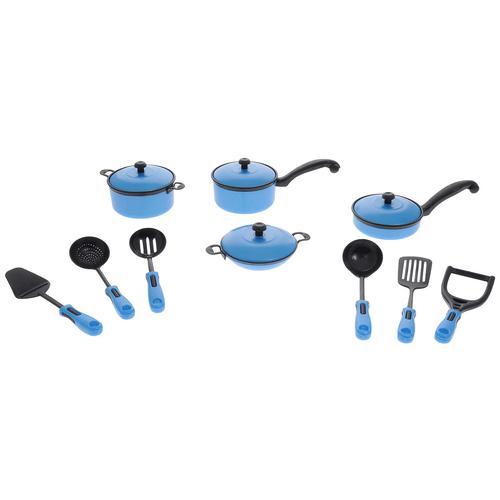 Фото - Набор посуды ABtoys Помогаю маме PT-00200 набор продуктов с посудой abtoys помогаю маме pt 00395 разноцветный