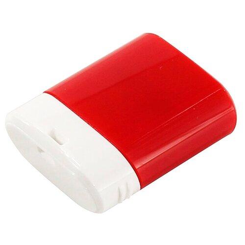 Фото - Флешка SmartBuy Lara 16 GB, красный/белый флешка smartbuy ny series snow 16 gb красный белый