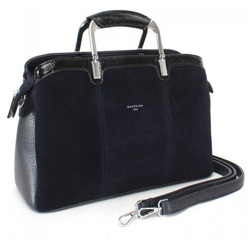 Женская сумка-тоут экокожа(искусственная кожа) + натуральная замша Kenguluna 532767