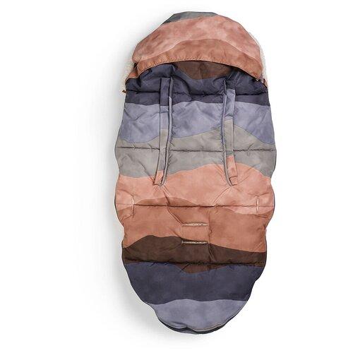 Конверт-мешок Elodie зимний на искусственном меху 110 см Winter Sunset