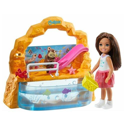 Игровой набор Barbie Club Chelsea Doll and Aquarium Мир Челси Аквариум, GHV75