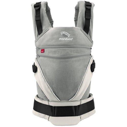 Купить Эргорюкзак Manduca XT, grey/white, Рюкзаки и сумки-кенгуру