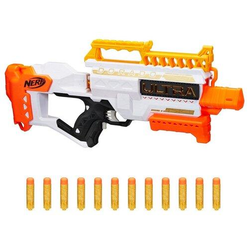 Бластер Hasbro Nerf, Ultra Dorado (Ультра Дорадо) (F2018ZR0) игрушечное оружие nerf ультра дорадо [f2018zr0]
