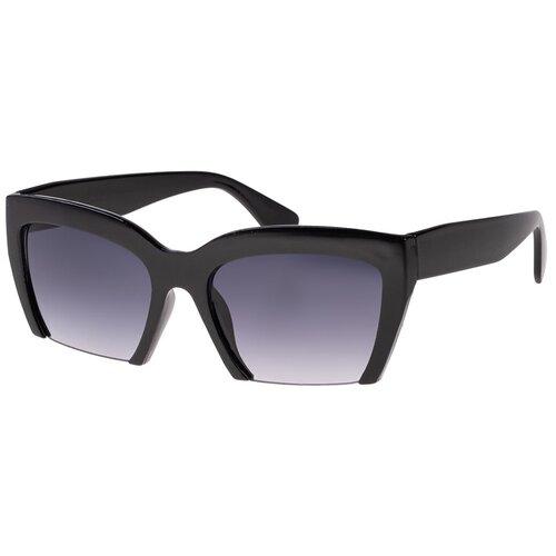Солнцезащитные очки женские/Очки солнцезащитные женские/Солнечные очки женские/Очки солнечные женские/21kdglan1005239c1vr черный/Vittorio Richi/Вайфареры/Клабмастер/модные