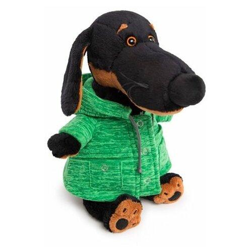 Мягкая игрушка Basik&Co Ваксон в зеленой куртке