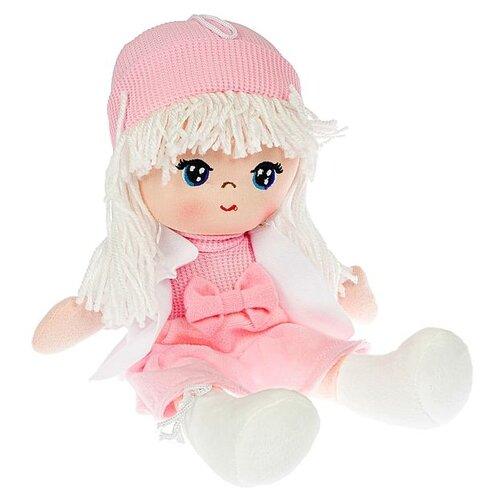 Фото - Мягкая кукла Oly BONDIBON размер 26 см, РАС, Лика-белые волосы (ВВ4996) мягкие игрушки bondibon кукла oly ника 26 см