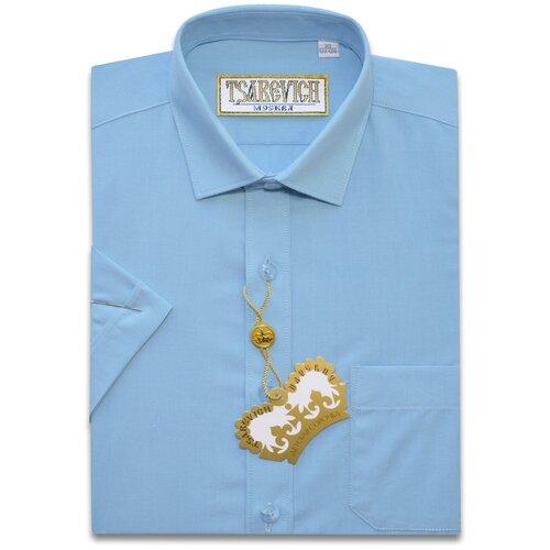 Рубашка детская Tsarevich 35(152-158), голубая