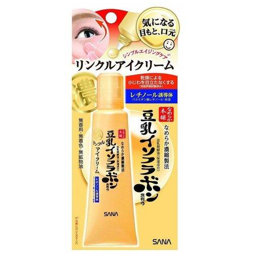 Купить SANA Крем-эссенция для ухода за областью вокруг глаз и губ с ретинолом и изофлавонами сои, 25 г