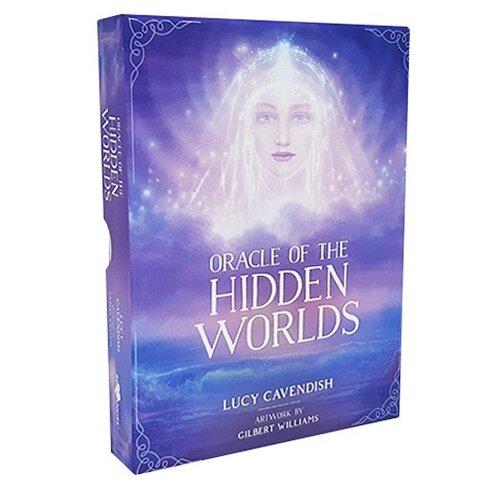 Гадальные карты Blue Angel Publishing Таро Oracle of The Hidden Worlds 44 карты