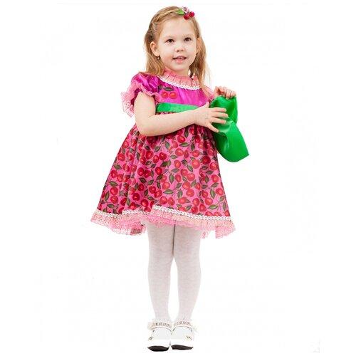 Купить Костюм 'Вишенки', размер 104-110 см., пуговка, Карнавальные костюмы