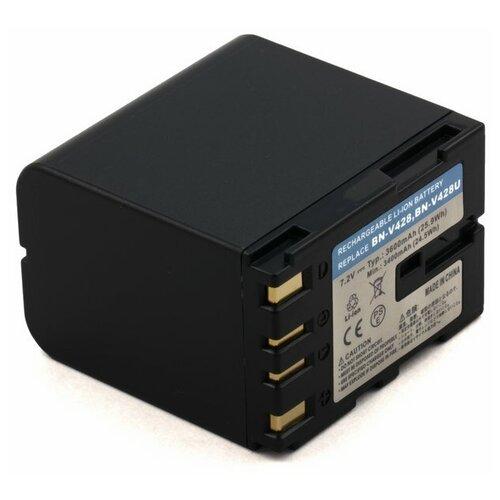 Фото - Усиленный аккумулятор для JVC BN-V428, BN-V428U, BN-V438 усиленный аккумулятор для jvc bn v416 bn v416u bn v428
