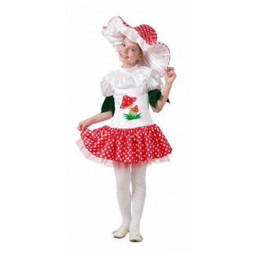 Купить Костюм 'Грибок' для девочки, размер 122 см., Батик, Карнавальные костюмы