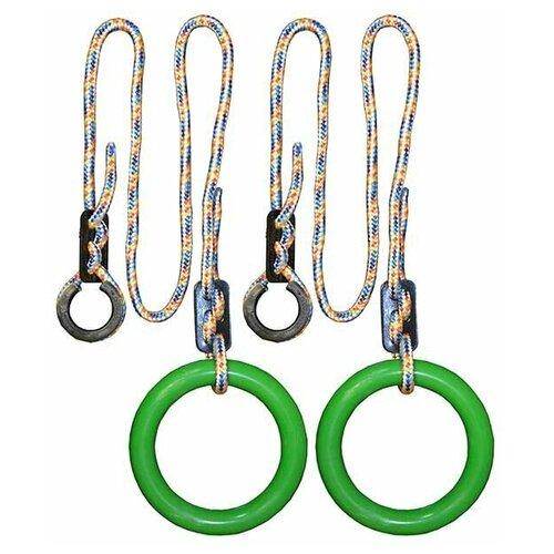 Кольца гимнастические круглые 01 В (Зеленый)