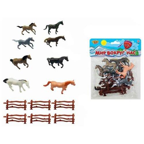 Купить Фигурки Yako Мир вокруг нас: Лошадки M0801, Игровые наборы и фигурки